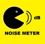 Noise Meter for BlackBerry smartphones / Noise Meter for BlackBerry smartphones by Pronic Apps The Noise meter records sounds in the vicinity of the device and calculates their levels in decibels. / by PronicApps