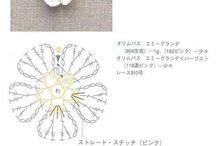 【編み図】モチーフ