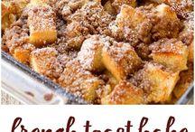 kaker/desserter