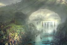 Fantasy, science fiction, concept art
