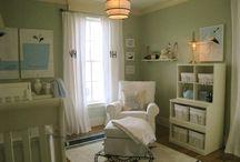 Nautical/ Sea Themed Baby Room