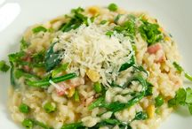 A little risotto