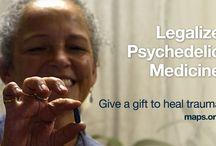 Legalize Psychedelic Medicine / Let's legalize psychedelic medicine together. Give a gift to heal trauma. maps.org