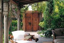 Gardens, terraces, porches, ...