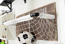 Ayoub's soccer room ideas