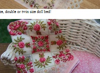 miniaturowe hafty