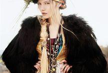 Folk, Bohemian, and Hippie Chic Fashion Editorial