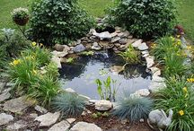 Ponds and waterfeatures