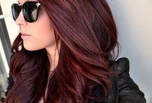 redish hair