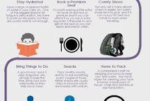 {leaving on a jetplane : travel tips & tricks}