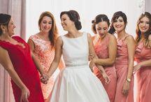 Boda de Yazmina & Ivan / Se casaron el 17 de Octubre de 2015 en Elx/elche, Alicante. Ella llevaba un precioso vestido de nuestra firma.