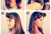 Hairstyles / by Tomasa Burgos