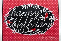 Memory Box Birthday Tidings / by Brenda Strachan