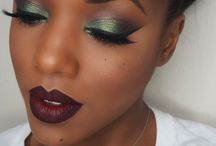 Make-Up For Dark Skinned