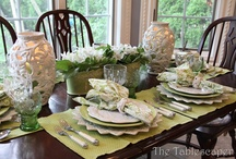 table decorations / by Jody Getson