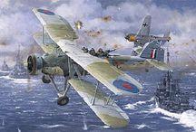ilustraciones de aviones