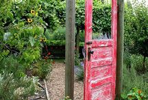 Repurposed Doors In The Garden / by Plant Care Today