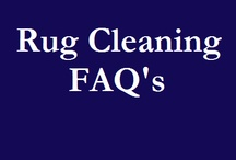 Rug Cleaning FAQ's