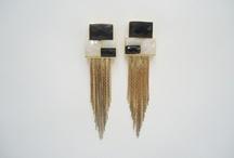 BRINCOS/EARRINGS / Pedras,banho de ouro e bijuterias fashion