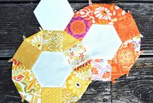 English Paper Piecing Inspiration / by Pretty Bobbins Quilting