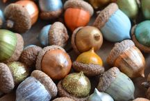 Acorn crafts / by Lucille Kauffman