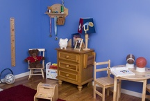 Boy's Sports Room / Decor and gift ideas for your lil slugger, football fan, sports fanatic