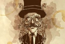 steampunk illustration