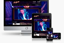 Diseño web musicos / Diseño de paginas web para músicos http://www.basicum.es/galeria-web/