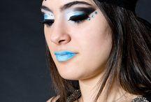 Maquillaje de alumnos