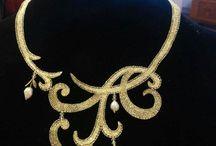 bijuterii crosetate