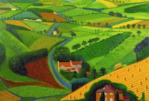 david hickney landscapes