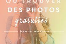 Photos pour création graphique