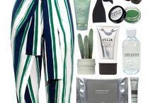 Stripe Pants // How to wear