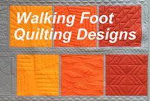Walkingfoot quilt