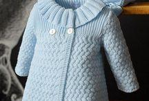 Вязание. Пальто детское