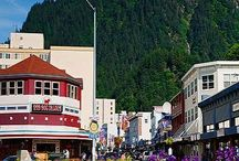 "Downtown Juneau / With Klondike-era hotels and saloons, ""onion-dome"" churches, colorful Victorian homes, and more, Juneau itself is like one big museum, especially our downtown historic district."