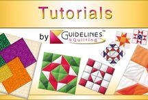 (quilt) tutorials
