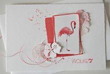 Cards...Flamingo