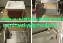 bathroom cabine quality inspection