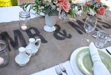 Head Tables / by Viansa Weddings