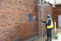 Wall Cleaning Service / Clean windows give your business a truly brilliant and transparent look. Windows are probably the first impression of your office building and you