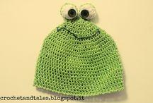 crochet hat / Cappelli lavorati ad uncinetto Mostricioccoli