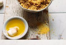 Vegan Pantry / Pantry staples. Mixes, fixes, basic recipes, cheeses, sauces,