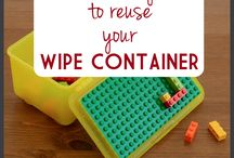 Wipe container uses