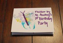 Audrey Birthday Party