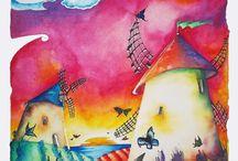 Watercolour Grinders / Watercolour Grinders
