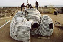 σπίτια από χωματόσακους (earthbag homes)
