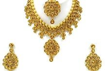Beautiful Kundan Wedding Women Jewelry Set