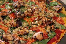 Unique Pizza Ideas / Mostly gluten free & vegetarian / by Sherri Meyer