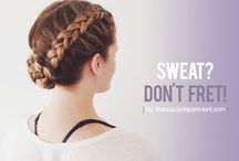 Braids and buns and rolls / Favourite braided and buns hairstyles, for inspiration and tutorials